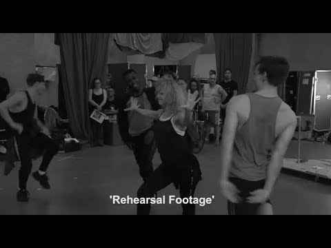 Flashdance Rehearsals for the 2017 Tour
