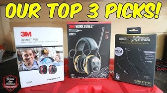 3M WorkTunes, ISOTunes, 3M Peltor - MUST NEED Hearing Protection Gear!