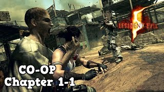 Resident Evil 5 - (Co-Op) - Chapter 1-1