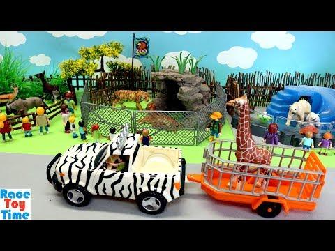 Zoo Wild Animals Toys Fun For Kids - Learn Animal Names
