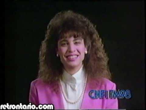 CHFI FM 98 Torontos Perfect Music Mix 1989