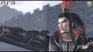 Dynasty Warriors 7 - Playstation 3 vs Xbox 360 [HD]