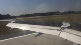 Lufthansa atterrissage a Francfort