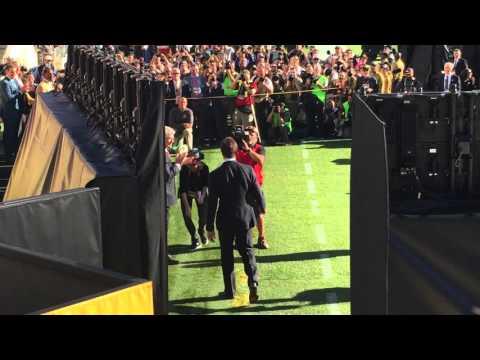 Tom Brady introduced at Super Bowl as 3 time SB MVP