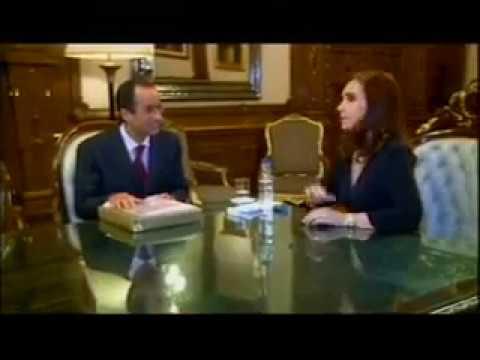 Un fiscal le presentó a Casanello un video de Cristina con Odebrecht