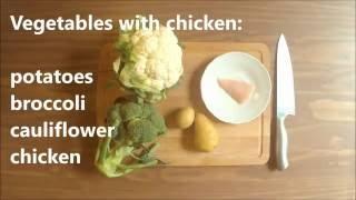Healthy baby food recipe chicken porridge rice with chicken vegetables with chicken baby food homemade recipe forumfinder Gallery