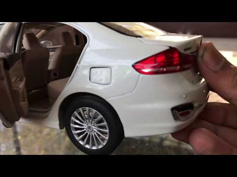Unboxing of Mini Maruti Suzuki Ciaz diecast model toy car