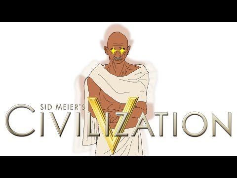 Civilization 5: Gandhi Rises