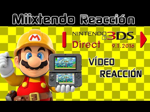 Vídeo Reacción Nintendo Direct 1.9.2016 (Nintendo 3DS Direct)