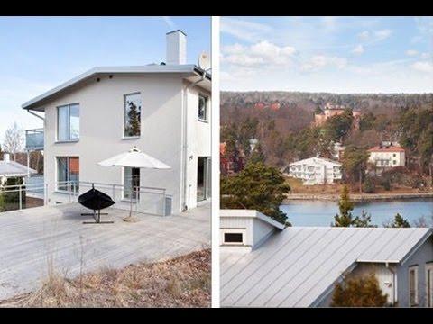 Seaside luxury house for rent on Lidingö ID 318