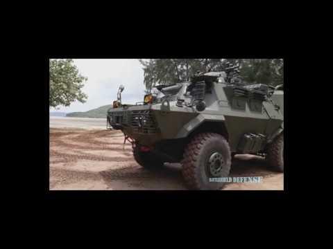 HMV-150 โชว์การเลี้ยวแบบ 4 ล้อ และวอล์คอราวนด์