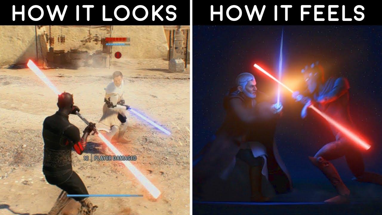 How It Looks vs How It Feels #9 - Star Wars Battlefront 2