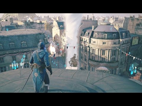 Assassin's Creed Unity Arno vs Tornado & Killing Thug Captains