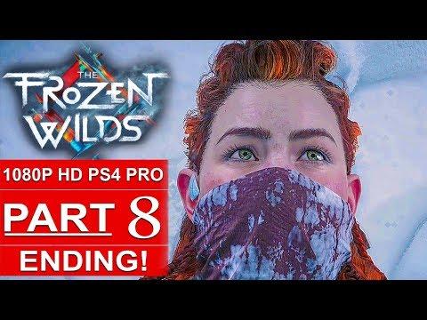 HORIZON ZERO DAWN The Frozen Wilds ENDING Gameplay Walkthrough Part 8 [1080p HD PS4 PRO]