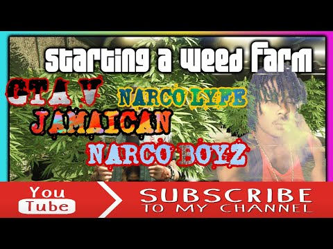 GTA V *NARCO LYFE JAMAICAN DRUGZ LORD* (Interactive Streamer)CHAPTER #1