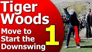 Tiger Woods Golf Swing Analysis: ONE Downswing Move