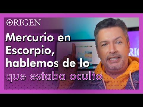 Mercurio en Escorpio, hablemos de lo que estaba oculto - Canal Origen