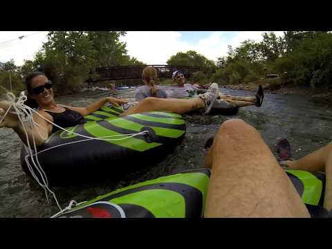 Clear Creek Tubing, Golden Colorado GoPro