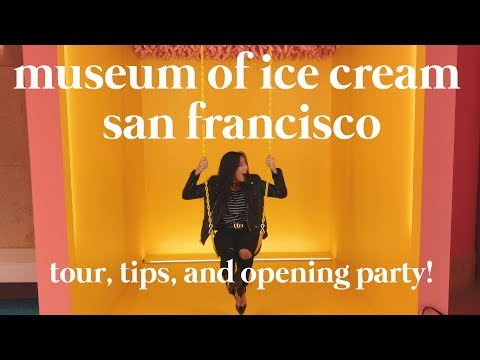 MUSEUM OF ICE CREAM SAN FRANCISCO: Tips and walkthrough tour from the opening party!