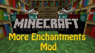 More Enchantment Mod - Poison Arrows, High Jump and More!