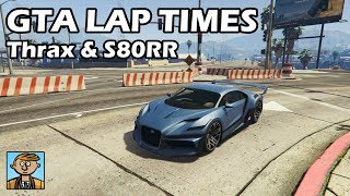 Fastest Supercars (Thrax & S80RR) - GTA 5 Best Fully Upgraded Cars Lap Time Countdown