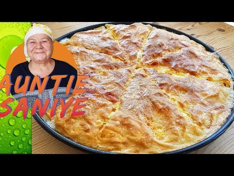Traditional Turkish Pastry with Cheese Filling Recipe   Su Borek with Cheese