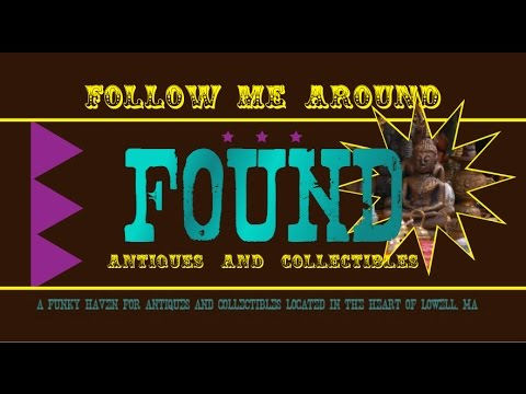 Follow Me Around Found Antiques and Collectibles