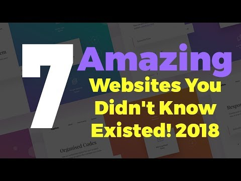 7 Amazing Websites You Didn't Know Existed! 2018 || इन्टरनेट की 7 सबसे गज़ब वेबसाइट