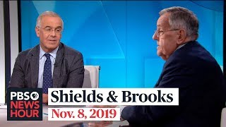 Shields and Brooks on public impeachment hearings, Kentucky election results