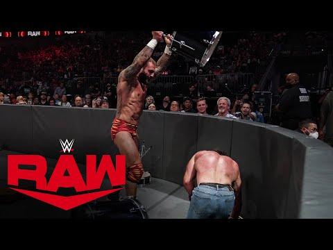 Jaxson Ryker vs. Elias – Symphony of Destruction Match: Raw, July 19, 2021