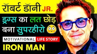 Robert Downey Jr. Biography In Hindi | Life Story | Drug Addiction | Motivational Video