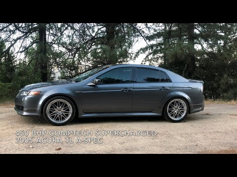 Acura TL A-Spec 450 BHP Comptech Supercharged  *The Sleeper*