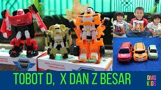 Tobot Toys   Unboxing Tobot D, X and Y   DMG Kids