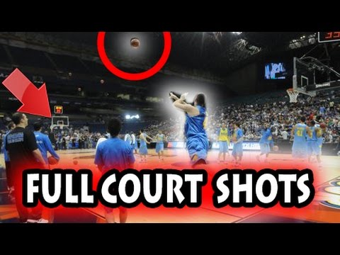 Thumbnail: Longest Full Court Shots in Basketball History (NBA)