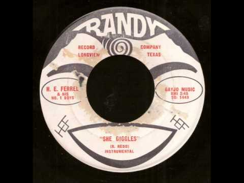 H.E. Ferrel & His No. 1 Boys - She Giggles on Randy Records