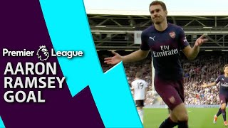 Premier League Tactics Session: Ramsey's incredible goal for Arsenal v. Fulham (2018) | NBC Sports