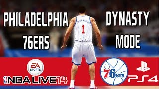 NBA Live 14 Dynasty Mode: Philadelphia 76ers - Gearing Up for a Title Run [EP7]