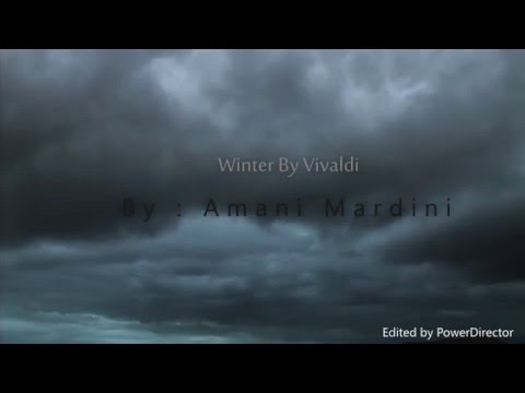 Winter By Vivaldi -music appreciation project-