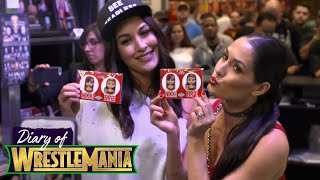 Brie and Nikki experience WrestleMania Axxess like TRUE FANS! - Diary of WrestleMania