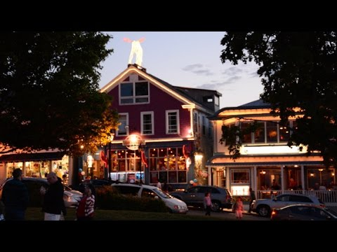 Follow the Tourists.. Inside Bar Harbor's Main Street