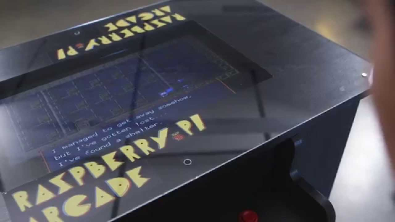 Raspberry Pi Arcade Table Youtube