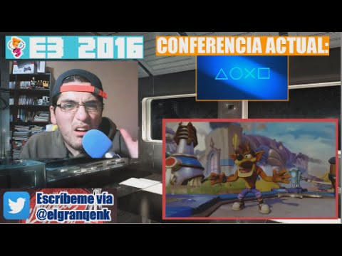 E3 2016: Reacción a Crash Bandicoot Remaster y Crash en Skylanders