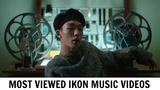 [TOP 20] Most Viewed IKON Music Videos | February 2018