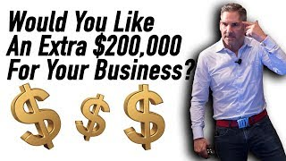 Would you like an extra $200,000 for your business?