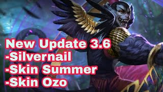 Vainglory Update 3.6!! New Hero || New Skin Ozo