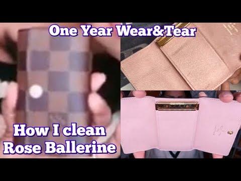 Louis Vuitton 6 Key Holder Review   Damier Ebene Rose Ballerine