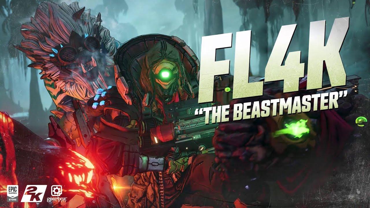 FL4K - The Beast Master » Borderlands 3 Characters » MentalMars