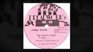 Judge Dread - My Name