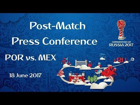 POR-MEX - Post-Match Press Conference