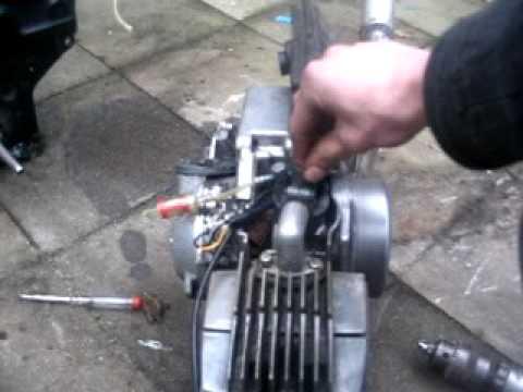 puch maxi engine blok 70 cc youtube